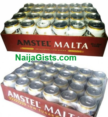 nigerian breweries staff steal 30 cartons amstel malta