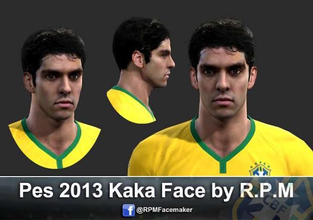 Ricardo Kaka Face PES 2013
