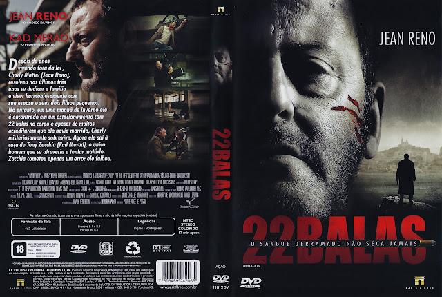 Capa DVD 22 BALAS