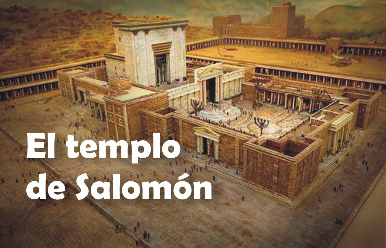 Conociendo La Biblia...: El Templo De Salomón