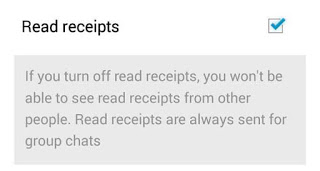 How to Disable Whatsapp Blue Receipt Ticks on android
