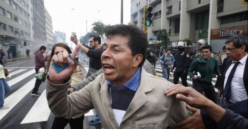 No descartamos una huelga de hambre, aseguró dirigente Pedro Castillo