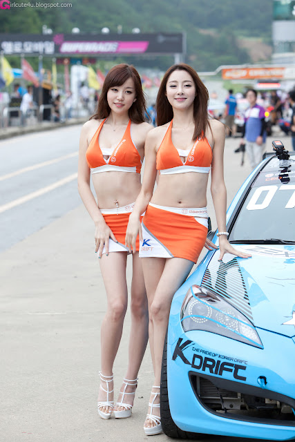 3 Hong Ji Yeon at CJ SuperRace R4 2012-Very cute asian girl - girlcute4u.blogspot.com