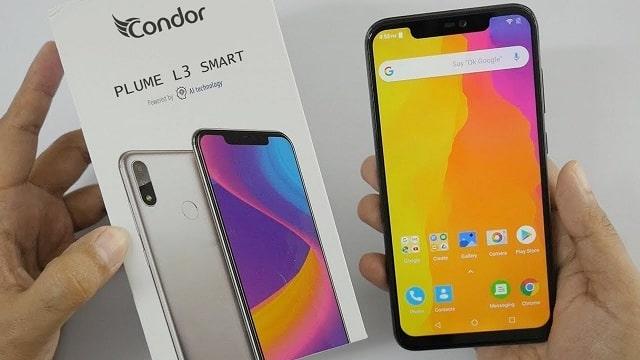 مواصفات و صور و أسعار هاتف كوندور Plume L3 Smart