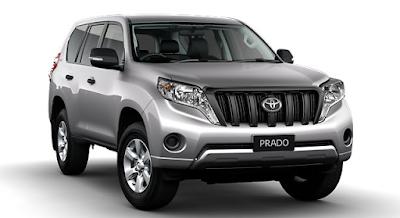 Toyota Land Cruiser Prado facelift version 02