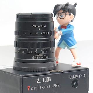 Lensa 7Artisans 55mm f1.4 for sony