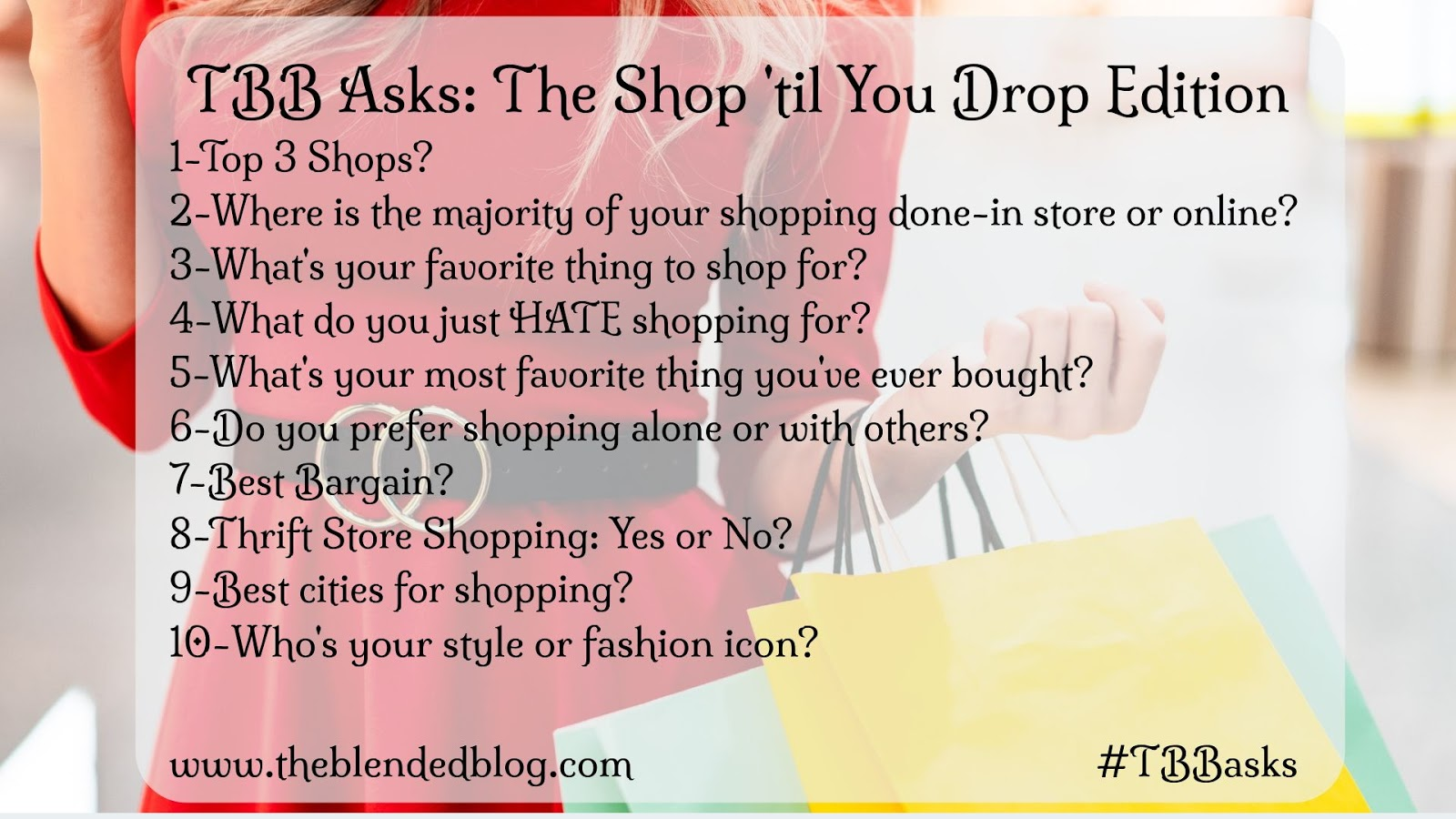 TBB Asks - Shopping