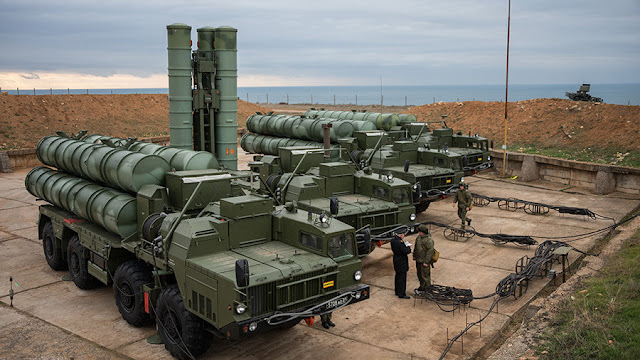 Image Attribute: The file photo shows the Russian-made S-400 missile defense systems / Source: Russin Ministry of Defence