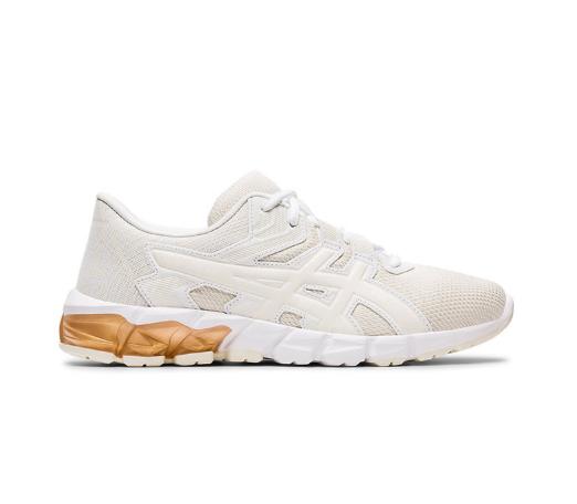 Asics Pantofi de dama albi rezistenti pentru alergare Gel-Quantum 90