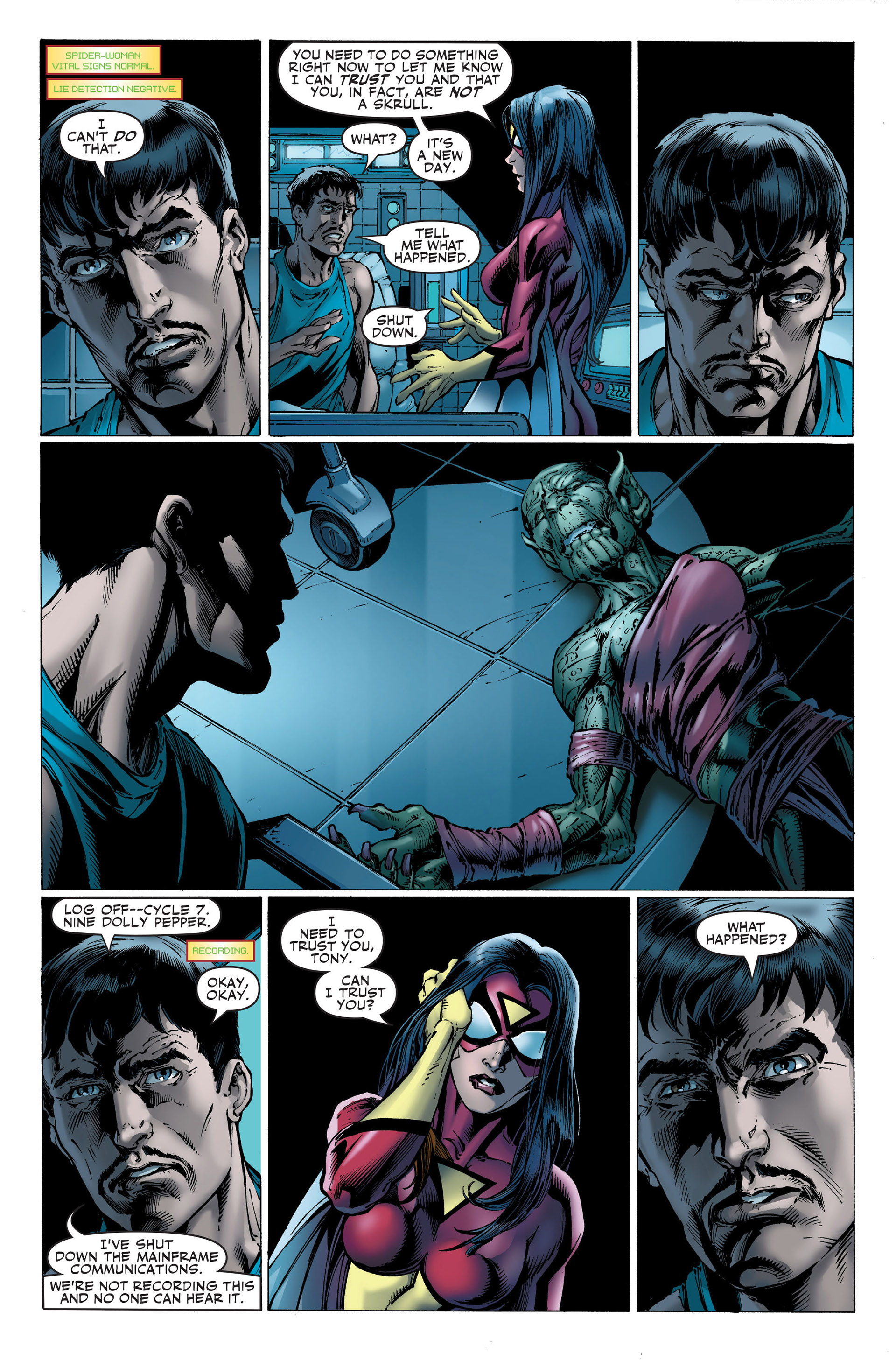 Read online Secret Invasion: The Infiltration comic -  Issue #1 - 4