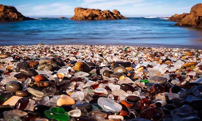 Glass Beach Travel Trip