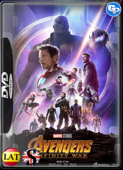 Los Vengadores: Infinity War (2018) DVD5 LATINO/INGLES