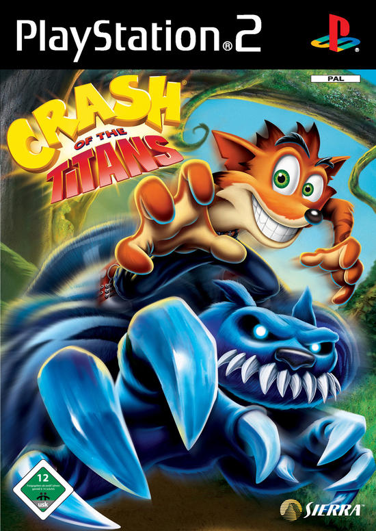 Crash of the Titans PAL PS2