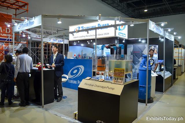Tsurumi Pump Exhibit Booth