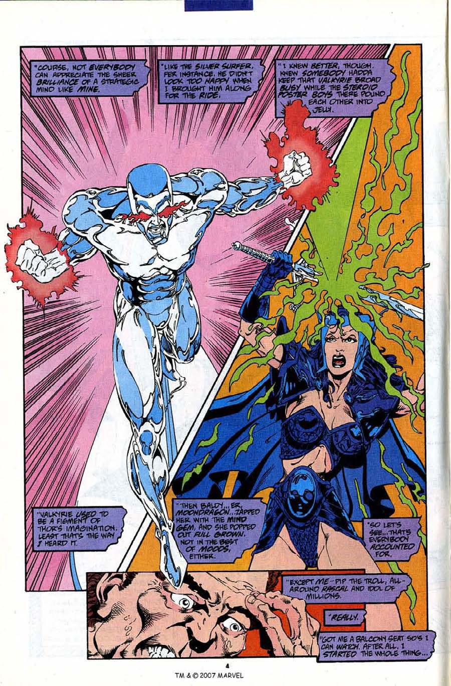 Read online Silver Surfer (1987) comic -  Issue #88 - 6