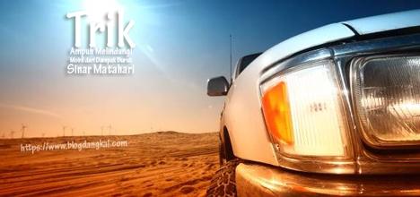 Trik Ampuh Melindungi Mobil dari Dampak Buruk Sinar Matahari