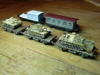 Updated supply trains.
