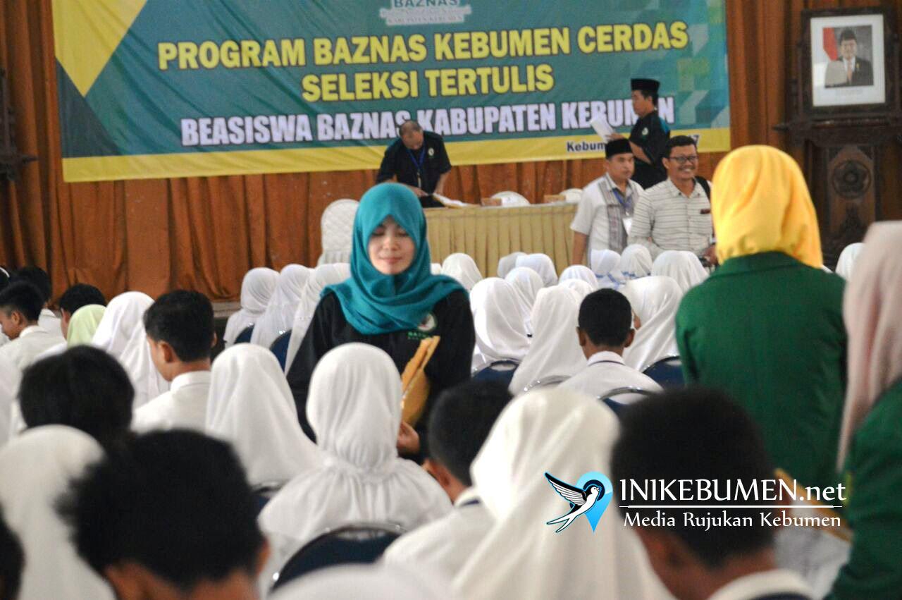 309 Peserta Ikuti Seleksi Beasiswa Baznas Kebumen