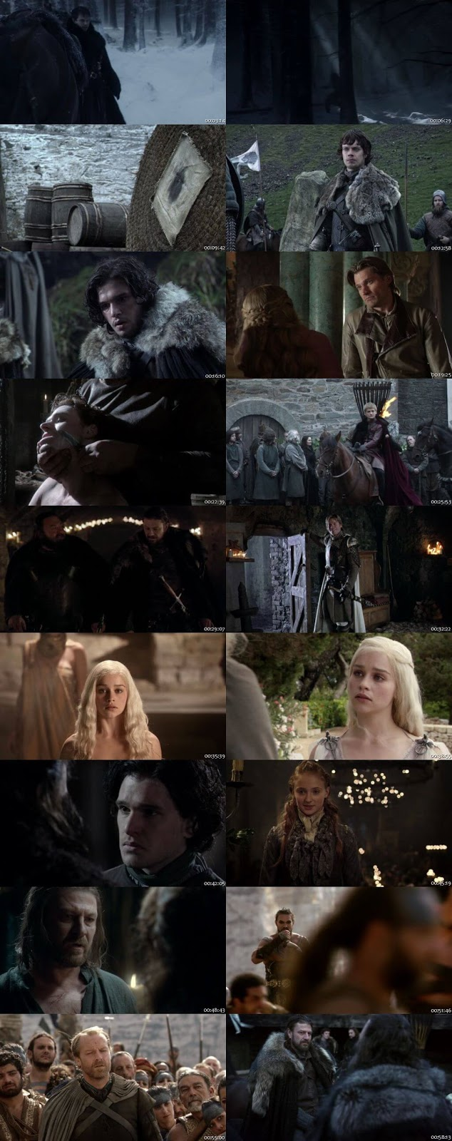 Game of Thrones S01 Complete Dual Audio 720p BRRip [Hindi – English]