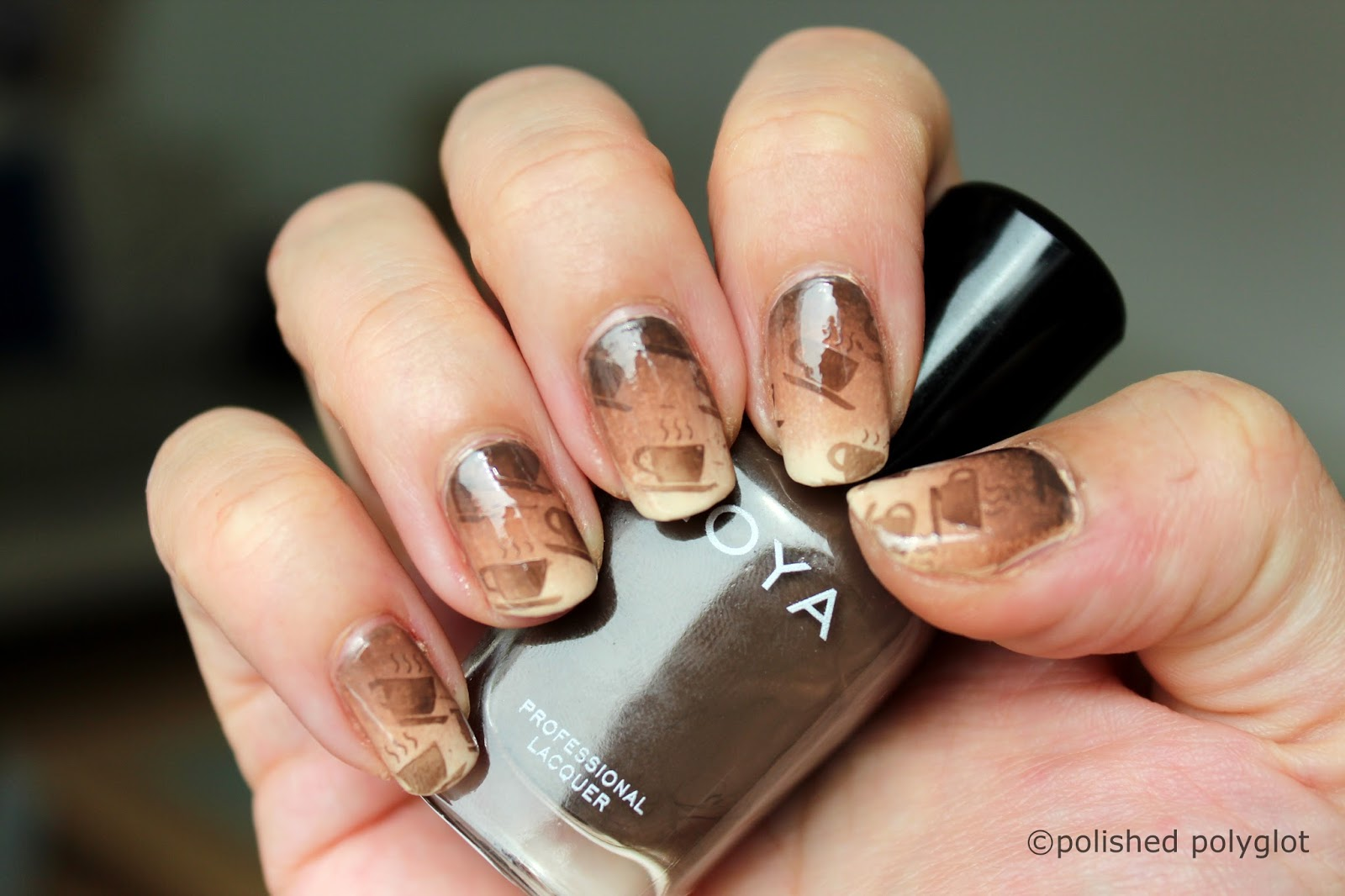 Nail art fancy a cappuccino last nail art design now what cappuccino nail art prinsesfo Image collections