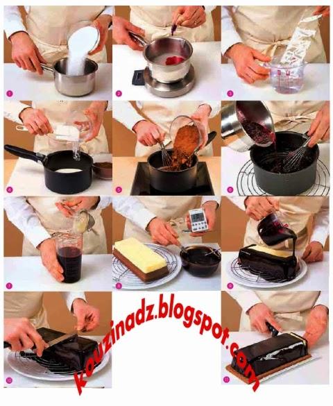 La cuisine alg rienne glacage au chocolat - Samira tv cuisine fares djidi ...