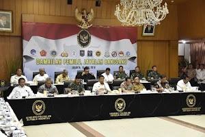 Panglima TNI Hadiri Rakor Kesiapan Akhir Pengamanan Pemilu 2019