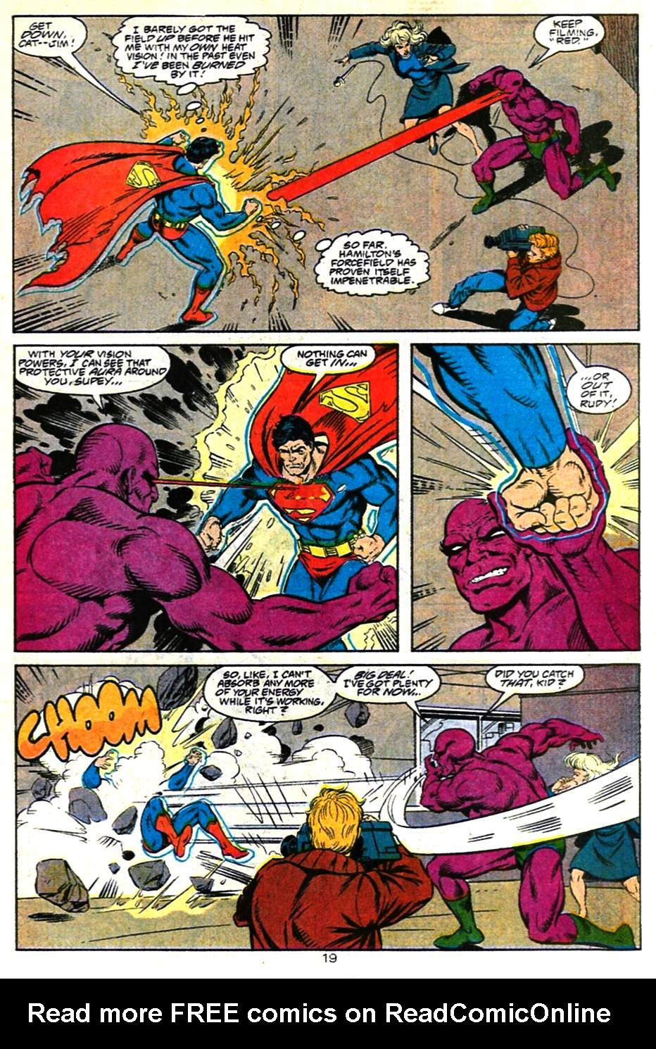 Read online Adventures of Superman (1987) comic -  Issue #482 - 20