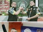 Harry M Pinangkaan dan Melkie Wewengkang Punggawa Baru LSM GMBI Distrik Minut