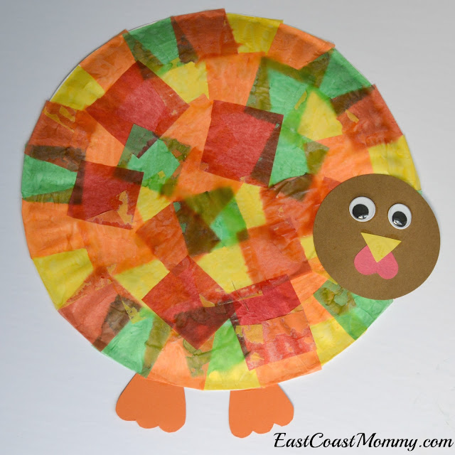 East coast mommy simple thanksgiving crafts for kids for Turkey country arts and crafts