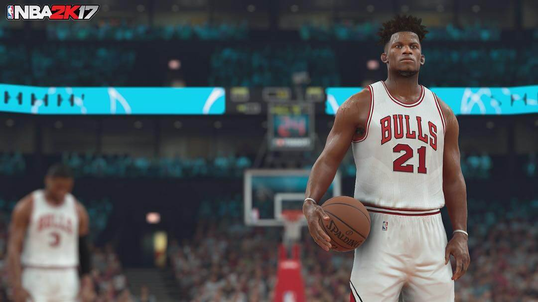 NBA 2k17 Screenshot : Jimmy Butler
