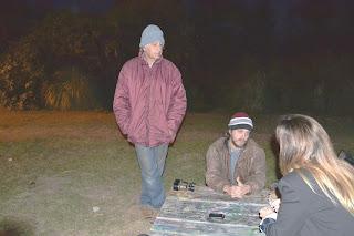 Vecinos de la Asamblea Bosque Alegre de San Isidro