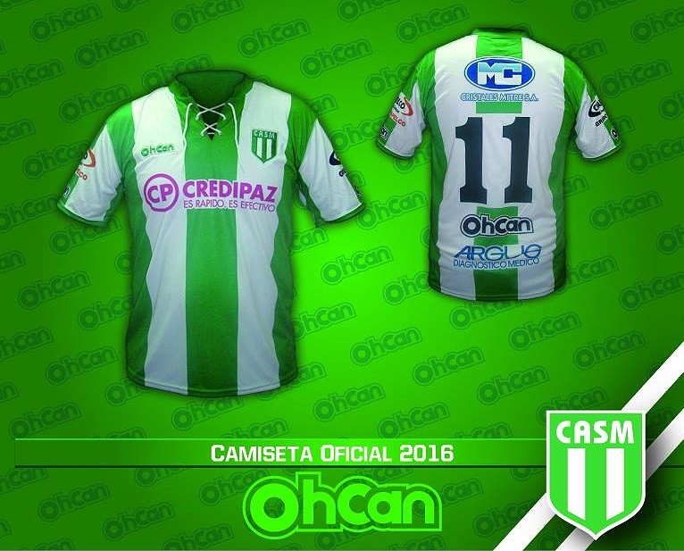 0f3a0dc75d Ohcan apresenta as novas camisas do San Miguel - Show de Camisas
