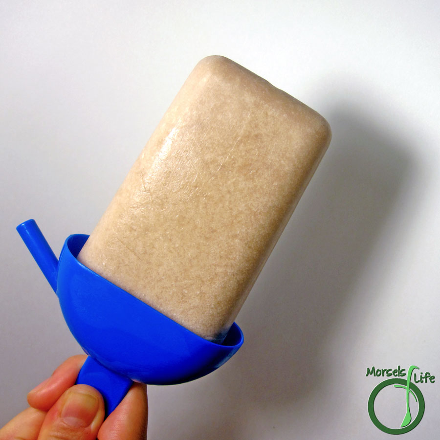 Morsels of Life - Nutella Coconut Popsicles - The addictively sweet and chilly marriage of Nutella and creamy coconut milk in popsicle form.