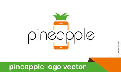 Pineapple Logo Vector Icon PNG