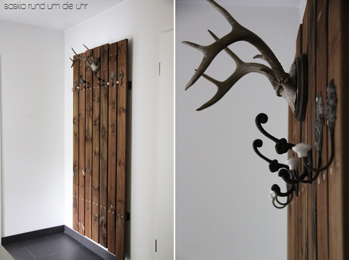 Holz Garderobe Selber Bauen Wohn Design