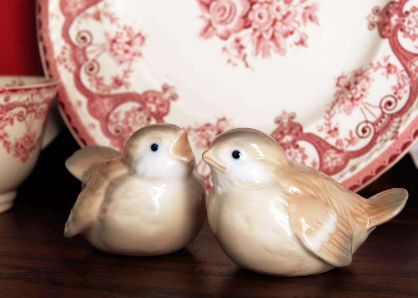 Otagiri porcelain birds