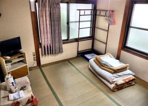 Minshuku Koyo-so Hiwasa Tokushima.