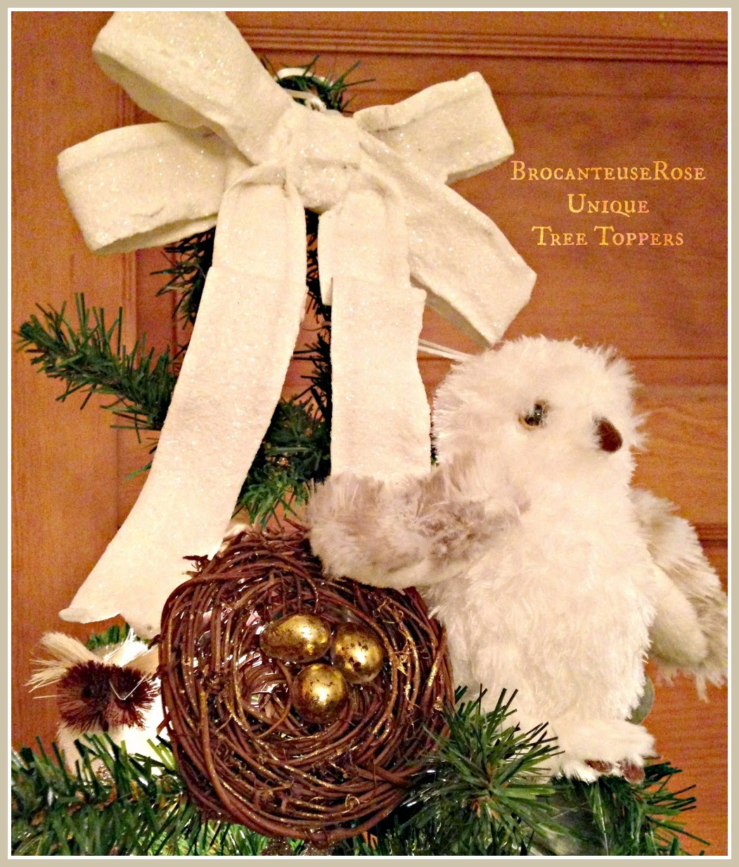 Unique Christmas Tree Toppers On Pinterest