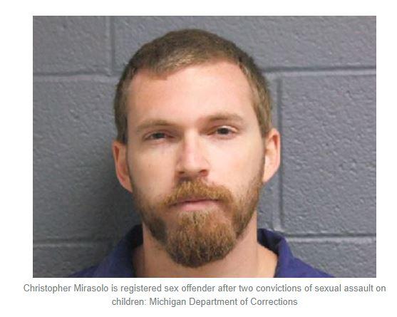 Chilad Rapist Christopher Mirasolo