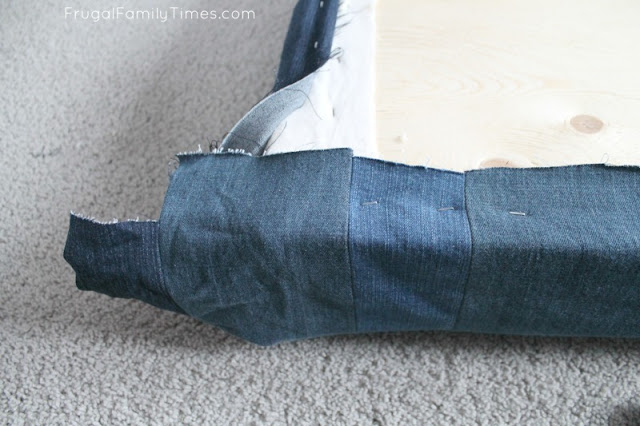 making corners diy window seat cushion