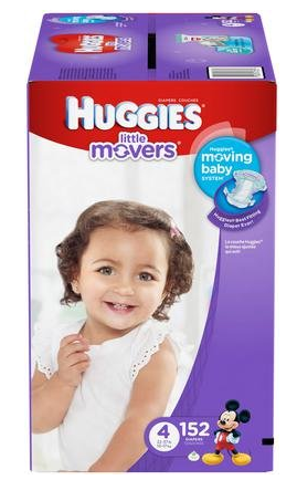 Huggies Little Movers diapers.com