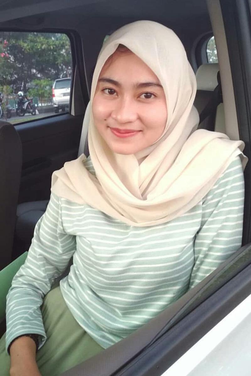 Cewek IGO jilbab Cantik bahan jersey