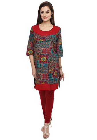 Long Kurti with Open Front, as many fashionable ladies have desire to be looked very different and they want to change in their styles. We know by the experiments, that the change in fashion and style is non stop, and it always remain changeable every time. We are talking about the Fashion and Styles which are now a days IN, There are many new designs with Kurti Cropped cuts and necklines. But now a days a new style and design which is on the Radar is Long Kurtis with Front Open. Below we select designs which should be in wardrobe or each girl: