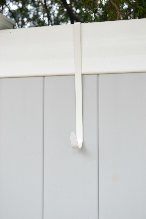 Fence Hangers For A Vinyl Fence Homeroad