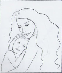 daughter mother drawing drawings painting sketches daughters realm rebecca sketchbook done quick getdrawings
