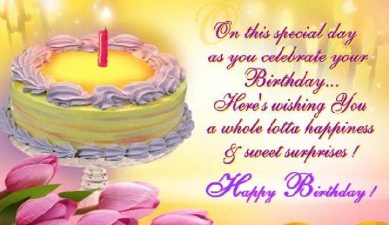Birthday sms for girlfriend bangla