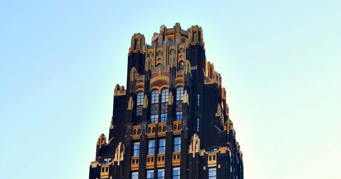 The American Radiator Building And The Bryant Park Hotel