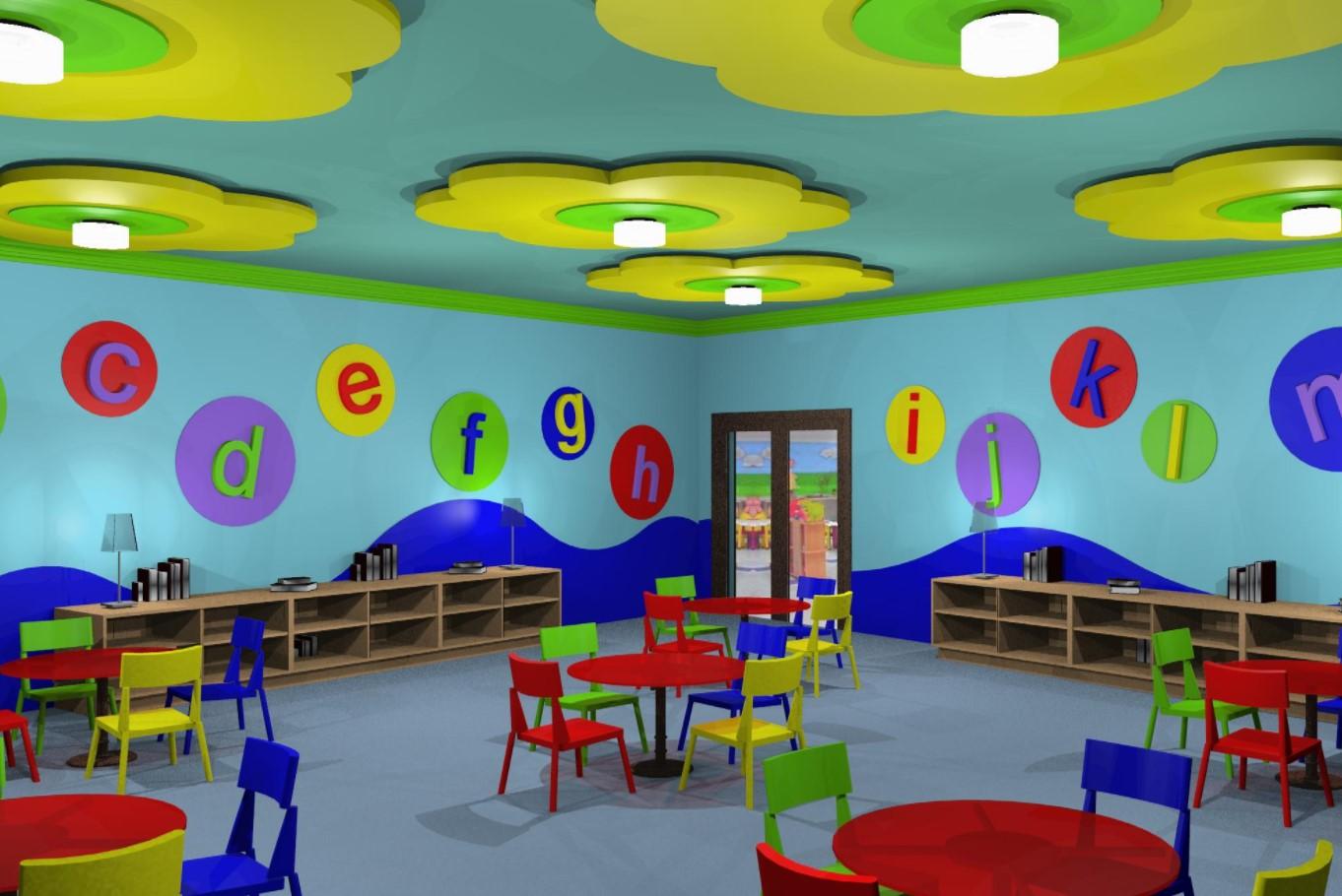 45 Dekorasi Kelas TK Modern yang Paling Ceria agar Anak