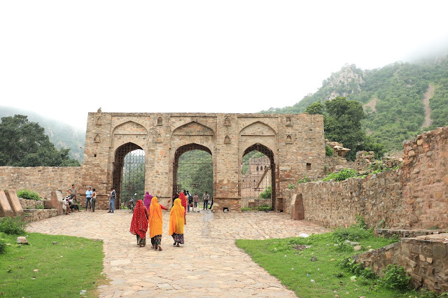 Entrance gate of Bhangarh Fort