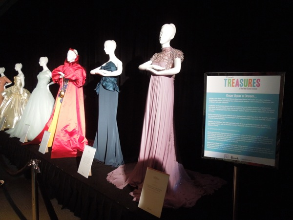 Harrods Once Upon A Dream Disney Princess gowns D23 Expo